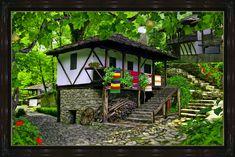 Architectural ethnographic complex, Etara,Bulgaria
