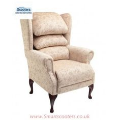 Cosi Cannington High Back Arm Chair