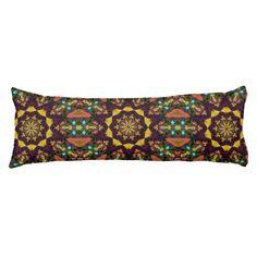 Aztec Dilemma Body Pillow