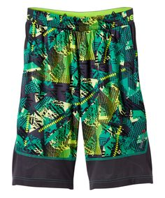 Echo Gray Training Shorts - Boys
