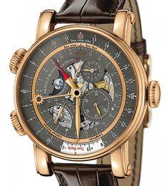 Arnold & Son | True North Grey | Rotgold | Uhren-Datenbank watchtime.net