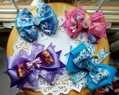 Frozen Boutique  Hair Bows  Made By Norma Unique Gift Baskets  $8