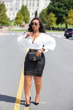 Chicamastyle by Chic Ama Curvy Women Fashion, Girl Fashion, Fashion Outfits, Womens Fashion, Smart Casual Work Outfit, Classy Outfits, Cute Outfits, Business Casual Dresses, African Fashion Dresses