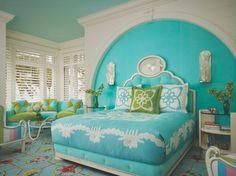 Gulf Coast Tropical tropical-bedroom