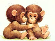 #Cute Monkeys.