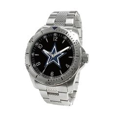Valentine's Idea: Dallas Cowboys Men's Cage2 Watch at shop.dallascowboys.com.