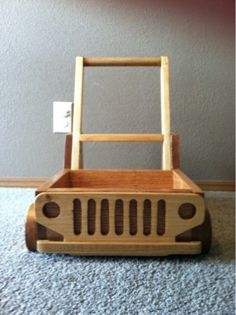 Wooden+Baby+Jeep+Walker+and+Push+Cart+by+WoodandCotton+on+Etsy,+$150.00