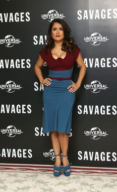 Salma Hayebeautiful curves and sex-appeal