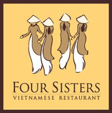 Four Sisters Vietnamese Restaurant - ate here with Alicia during my trip to DC in September 2013 - good food and atmosphere!