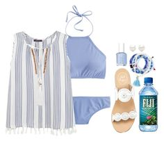 """""""something blue"""" by molliekatemcc ❤ liked on Polyvore featuring J.Crew, Violeta by Mango, Lead, Jack Rogers, Essie, Tiffany & Co. and Shashi"""