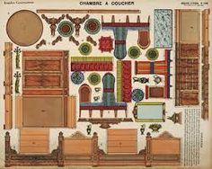 Bilderesultat for lion coffee advertising toys Diy Barbie Furniture, Paper Furniture, Dollhouse Furniture, Bedroom Furniture, Paper Doll House, Paper Houses, Diy Dollhouse, Dollhouse Miniatures, Antique Dollhouse