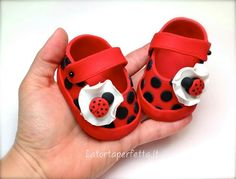 Fondant baby shoes                                                                                                                                                                                 More