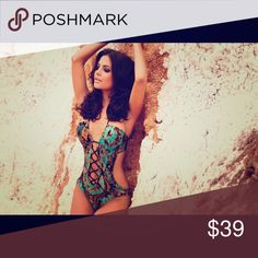 Make an offer-NWT- Aguaclara Boa Cut Away Swimsuit Boa inspired design highlighted with shoe string strap detail Spaghetti straps for adjustments to the back and neck of swimsuit Removable padding to the Triangle Bikini cups for shape only use high quality fabrics are digitally printed to enhance the beauty of the garments&exquisite accessories are sourced from around the world and hand-finished with embroidery, glamorous embellishments and ethnic lines. Each item is carefully designed to…