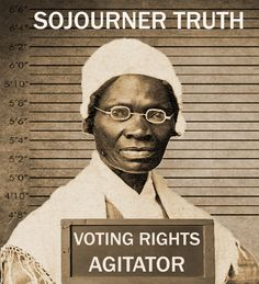 Sojourner Truth fought for women's right to vote. What will you do to carry on her legacy? #WomensEqualityDay #Shequality