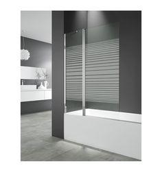 Paneles de bañera fijos más puertas abatibles OPEN 2 TRAZOS