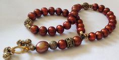 Turkish Islamic 33 Prayer Beads Tesbih Tasbih by kaysoothingbeads, $45.00