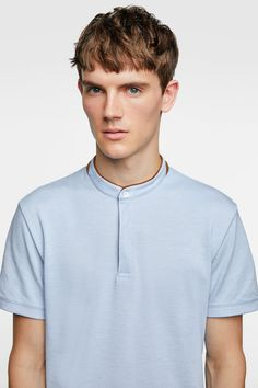 Polo Shirt Outfits, Polo T Shirts, Robert Wood, Zara, Commuter Bike, Collars, Shirt Designs, Men's Fashion, Menswear
