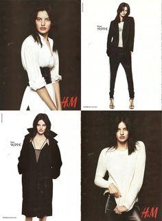 H&M Monochrome advert August 2014
