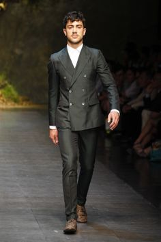 Dolce & Gabbana Man ss 2014 men fashion show runway 29 zoom