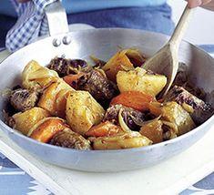 Sausage & root veg stovie