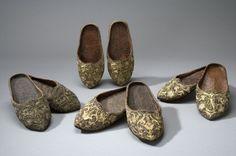 toffel orientalisk, slippers, 17th century Livrustkammaren, 17569 (3675:1) Sweden
