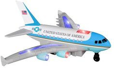 Daron Radio Control Air Force One Plane with Lights and Sound