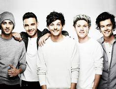Niall , Liam , Zayn , Lousi and Harry