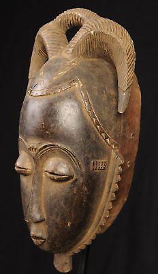 Yaure Costume Mask Ivory Coast African Tribal Arts Masks   eBay