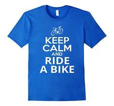 Men's Keep Calm And Ride A Bike T-Shirt Cycling T-Shirts ... https://www.amazon.com/dp/B01N9DVAHT/ref=cm_sw_r_pi_dp_x_HkKLyb1TAH2EN