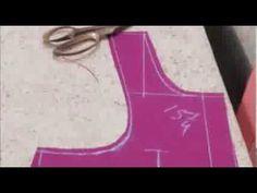 Blouse Cutting Method:Designer Saree Blouse(Choli) Designs/Make Measurement Steps - YouTube