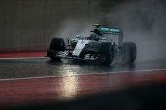 Nico Rosberg saldrá primero en el Gran Premio de EEUU