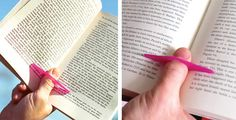 Avid readers now have a solution for all that thumb strain. | 33 Ingeniously Designed Products You Need In Your Life