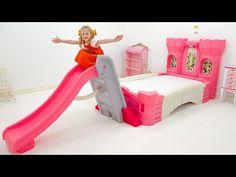 (25) नस्तास्या ने अपना नया कमरा सजाया - YouTube Princess Room, Princess Style, Cuddle Pillow, Church Songs, Cute Cartoon Images, Pink Furniture, Pokemon Coloring Pages, Afghan Dresses, Vlog