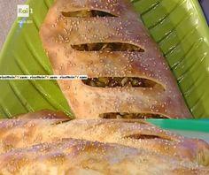 """La ricetta dello strudel alle verdure di Anna Moroni del 19 gennaio 2017, a """"La prova del cuoco""""."""