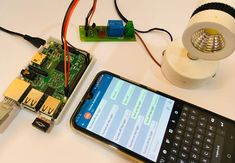 Circuit Hardware for Telegram controlled Home Automation using Raspberry Pi - Raspberry Pi Projects - Simple Arduino Projects, Iot Projects, Home Automation Project, Send Text Message, Hobby Electronics, Raspberry Pi Projects, Circuit Diagram, Hardware, Diy
