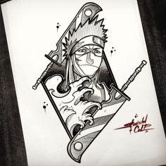 Naruto Drawings, Art Naruto, Naruto Sketch, Naruto Shippuden Sasuke, Anime Sketch, Anime Naruto, Naruto Tattoo, Anime Tatoo, Tattoos Anime
