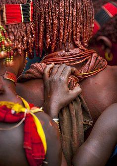 Hamer women, Omo valley Ethiopia
