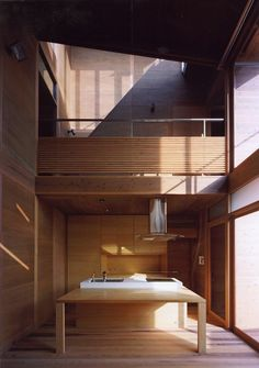 Modern Wooden House from Japanese Architect – Kitchen