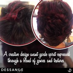 A creative design avant-garde spirit expressed through a blend of genres and textures at Dessange Paris- Muscat. Reach us at: +968 2418 1738 #Dessange #Muscat #beautysalon #beauty #salon #nails #makeup #hair #skincare #hairsalon #lashes #haircut #hairstyle #manicure #spa #haircolor #facial #waxing #hairstylist #nailart #pedicure #makeupartist #hairstyles #eyelashextensions #hairdresser #beautycare #brows #nailsalon #balayage #gelnails #massage Makeup And Hair Salon, Beauty Care, Hair Beauty, Professional Hair Salon, Salon Nails, Facial Waxing, French Hair, Hairdresser, Beauty Women
