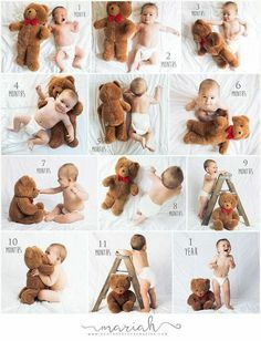 Pregnancy photos- Schwangerschaftsfotos I like how they added the ladder. It shows the child's growth in multiple directions photos - Monthly Baby Photos, Newborn Baby Photos, Baby Poses, Newborn Shoot, Newborn Baby Photography, Newborn Pictures, Funny Baby Pictures, Pregnancy Photos, Baby Boy Photos