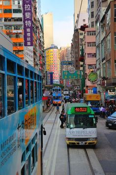 Hong Kong as seen from its iconic tram. The colorful side of Hong Kong. Macau Travel, Asia Travel, Taiwan Travel, China Hong Kong, Thinking Day, Travel Aesthetic, Sapporo, Kuala Lumpur, Osaka