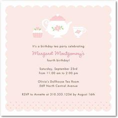 AHHH :) the PERFECT invitation for Alyvia's tea party birthday party!!:)