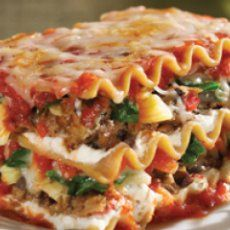 Sweet Pea and Artichoke Lasagna I want to make this and swap the artichoke for zucchini.
