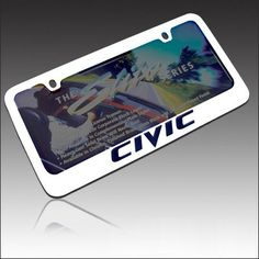 Honda Civic Chrome Metal License Frame | EL-9034890 | $29.95