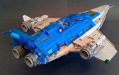LEGO MOC | Galaxy Explorer 2.0 #928 #classic #space