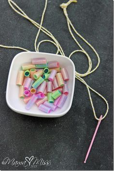DIY Homemade Sparkling Beads