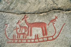 Sweden – Västra Götaland County – Tanum, Rock Carvings. Bronze Age