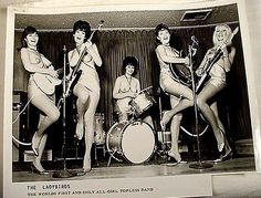 The Ladybirds (aka The Ladybyrds) formed in New Jersey. They found more receptive audiences in Las Vegas and at the Blue Bunny Club in Hollywood. In 1968 they received some exposure by appearing in The Wild, Wild World of Jayne Mansfield. http://www.amoeba.com/blog/2014/03/eric-s-blog/all-female-bands-of-the-1960s-happy-women-s-history-month-.html