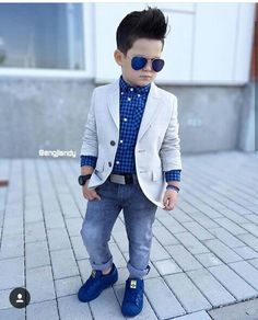 19 ideas children boy fashion outfit for 2019 Toddler Boy Fashion, Little Boy Fashion, Toddler Boy Outfits, Fashion Children, Baby Boy Swag, Baby Boy Dress, Baby Dresses, Outfits Niños, Baby Boy Outfits