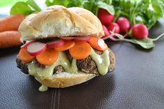 Portobello sandwich with Beano's Cilantro & Lime sauce: http://conroyfoods.com/